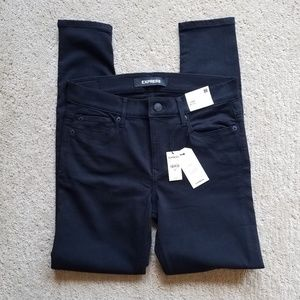 NWT Express Black Jeans